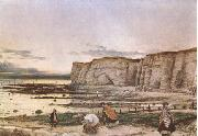 William Dyce Pegwell Bay in Kent.A Recollection of October 5 th 1858  (mk09) oil painting