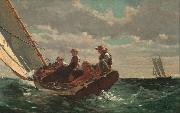 Breezing up (mk09), Winslow Homer