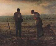 jean-francois millet The Angel us (san18) oil painting reproduction