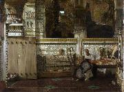 An Egyptian widow in the Time of Diocletian (mk23), Alma-Tadema, Sir Lawrence