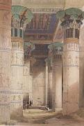 David Roberts,Portico of the Temple of Isis at Philae (mk23), Alma-Tadema, Sir Lawrence