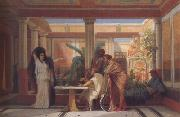 Gustave Boulanger,The Rehearsal in the House of the Tragic Poet (mk23)