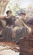 Alma-Tadema, Sir Lawrence Unwelcome Confidence (mk23) oil painting reproduction