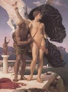 Frederic Leighton,Daedalus and Icarus (mk23)