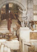After the Audience (mk23), Alma-Tadema, Sir Lawrence