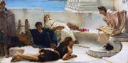 A Reading from Homer (mk23), Alma-Tadema, Sir Lawrence