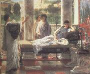 Catullus Reading his  Poems at Lesbia's House (mk23), Alma-Tadema, Sir Lawrence