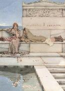 Alma-Tadema, Sir Lawrence Xanthe and Phaon (mk23) oil painting reproduction