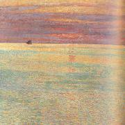 Sunset at Sea (nn02), Childe Hassam