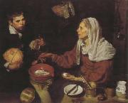 Old Woman Frying Eggs (df01), Diego Velazquez