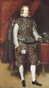 Philip IV in Broun and Silver (df01), Diego Velazquez