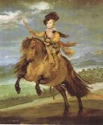 Diego Velazquez Prince Baltasar Carlos on Horseback (df01) oil painting reproduction