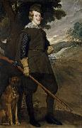 Philip IV as a Hunter (df01), Diego Velazquez