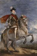 Philip III on Horseback (df01), Diego Velazquez