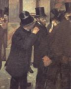 Portrait at the Stock Exchange (nn020, Edgar Degas