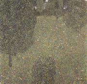 Landscape Garden (Meadow in Flower) (mk20), Gustav Klimt