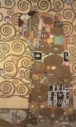 Gustav Klimt Fulfilment,pattern for the Stoclet Frieze,around (mk20) oil painting reproduction
