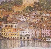 Malcesine on Lake Garda (mk20), Gustav Klimt