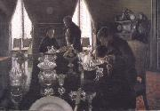 Gustave Caillebotte Luncheon (nn02) oil painting reproduction