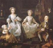 The Graham Chidren (mk08), HOGARTH, William