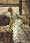 July (Specimen of A Portrait) (nn01), James Tissot