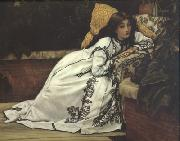Jeunes Femmes Regardant Des Objets Japonais (Young Ladies Looking At Japanese Objects) (nn01), James Tissot