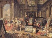 Jan Van Kessel Europe (centre panel) (mk14) oil painting