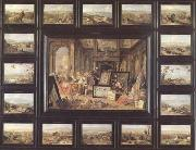 Jan Van Kessel Europe (mk14) oil painting