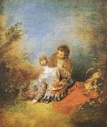 The Indiscretion (mk08), Jean-Antoine Watteau