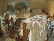 Artist in His Studio (mk18), John Singer Sargent