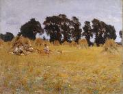Reapers Resting in a Wheatfield (mk18), John Singer Sargent