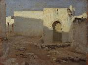 Moorish Buildings in Sunlight (mk18), John Singer Sargent