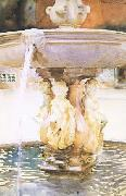 Spanish Fountain (mk18), John Singer Sargent