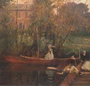 A Boating Party (mk18), John Singer Sargent