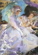 Reading (mk18), John Singer Sargent