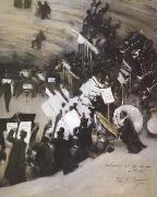 Rehearsal of the Pasdeloup Orchestra at the Cirque d'Hiver (mk18), John Singer Sargent