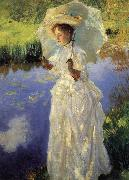 A Morning Walk (nn02), John Singer Sargent