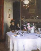 The Breakfast Table (mk18), John Singer Sargent
