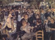 Pierre-Auguste Renoir Dance at the Moulin de la Galette (nn02) oil painting artist