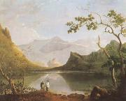 View of Snowdon from Llyn Nantlle (mk08), Richard  Wilson