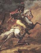 Chasseur of the Imperial Guard,Charging (mk10), Theodore   Gericault
