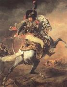 Theodore Gericault Chasseur of the Imperial Guard,Charging (mk10) oil painting