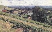 Theodore Robinson From the Hill,Giverny (nn02) oil painting