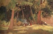 Tom roberts corroboree (nn02) oil painting