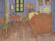The Artist's Bedroom at Arles (mk12), Vincent Van Gogh