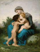 Fraternal Love (mk26), Adolphe William Bouguereau