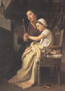 The Thank Offering (mk26), Adolphe William Bouguereau