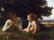 Temptation (mk26), Adolphe William Bouguereau