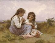 Childhood Idyll  (mk26), Adolphe William Bouguereau