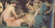 Spring (mk26), Adolphe William Bouguereau